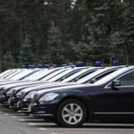 Чиновников лишили свободы передвижения на служебном транспорте