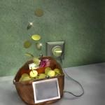 Электронный кошелек V.me от интернет-магазина, специализирующегося на продаже цветов.