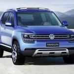 Компания Volkswagen выпустила прототип компактного кроссовера.