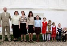 Многодетные семьи Татарстана получили подарки