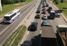 Ремонт дорог Подмосковья будут останавливать на выходных