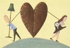 Женщины больше страдают после развода